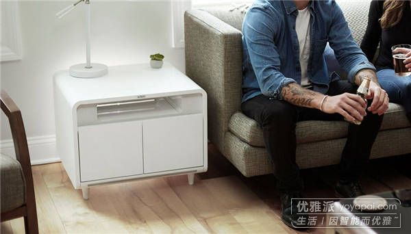 多功能智能茶几Sobro Smart Side Table